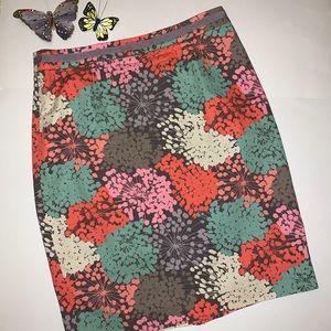 Boden Multi Color Skirt Sz 10